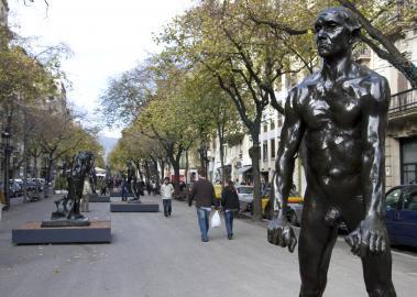 Art al carrer. Auguste Rodin a Barcelona