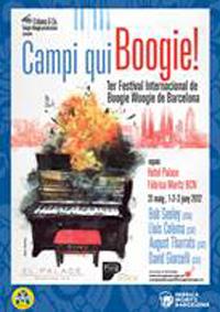 Campi qui Boogie!, el nou festival de música de Boogie Woogie de Barcelona