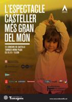 L'espectacle casteller més gran del món, lema del XXIII Concurs de Castells