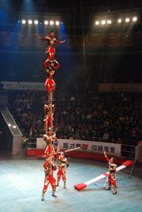 La Troupe Zola i Grechushkin guanyadors absoluts del Festival Internacional del Circ Castell de Figueres