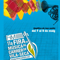Demà comença l?11a edició de la FiM Fira de Música al Carrer de Vila-seca