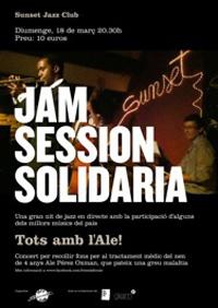 El jazz gironí es mobilitza en una jam session solidària el proper diumenge 18 de març