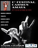 Neix a Barcelona el Festival de Flamenc Carmen Amaya, per a retre homenatge a l'artista que dóna nom al certamen