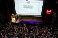 Mil-cinc centes persones omplen la sala Artèria de Barcelona en la gala d?entrega dels Premis Enderrock