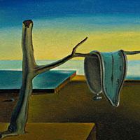 La persistència de la memòria, al Museu Dalí