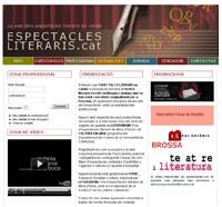 Neix espectaclesliteraris.cat, la web dels espectacles literaris en català