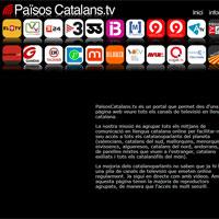 Un portal d?internet permet, des d?una pàgina, veure tots els canals de televisió catalans