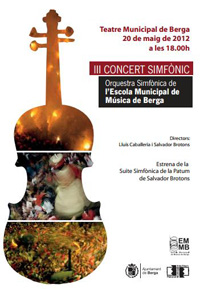 Salvador Brotons composa la Suite Simfònica de La Patum