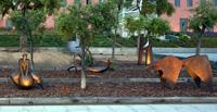 L'espai escultòric de l'enjardinat de Can Mario s'amplia amb vint noves propostes