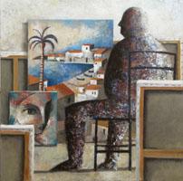 El recull de l'obra de Didier Lourenço, a la galeria Anquin's