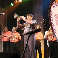 Concert de Boban i Marko Markovic Orkestar Fanfàrria sèrbia