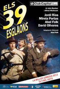 Els 39 esglaons celebra les 100 representacions al Club Capitol i enfila les tres darreres setmanes en cartell a Barcelona