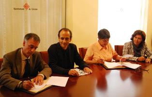 L?Ajuntament de Girona i el Fòrum Gastronòmic signen el conveni de col·laboració