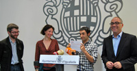 La Mostra d?Igualada i la Fundació CatalunyaCaixa lliuren el premi al millor espectacle a Antonio Díaz Cascajosa