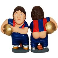Els caganers de Messi, Bob Esponja i Benet XVI, els més venuts d'aquest Nadal