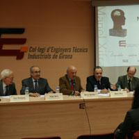 El Col·legi d?Enginyers Tècnics Industrials de Girona presenta els guanyadors dels premis Manel Xifra Boada