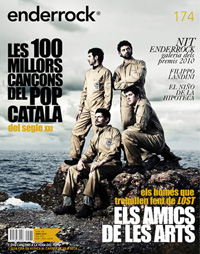 Enderrock edita un butlletí setmanal distribuït per COMRàdio amb totes les novetats discogràfiques en català