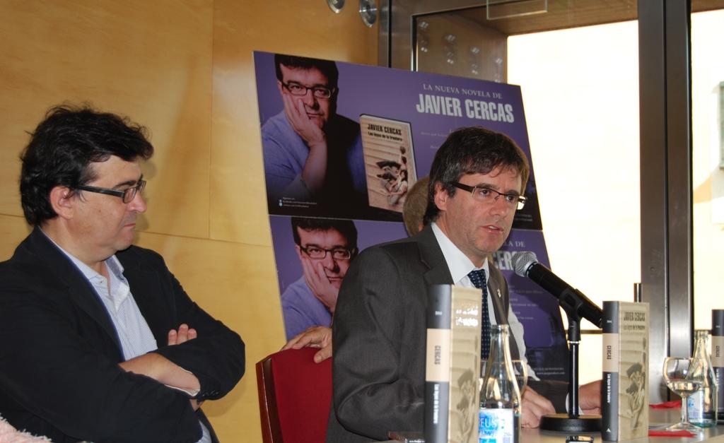 Javier Cercas fa de Girona l?escenari protagonista de la seva nova novel·la