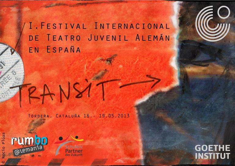 cartell TRANSIT Teatre Clavé