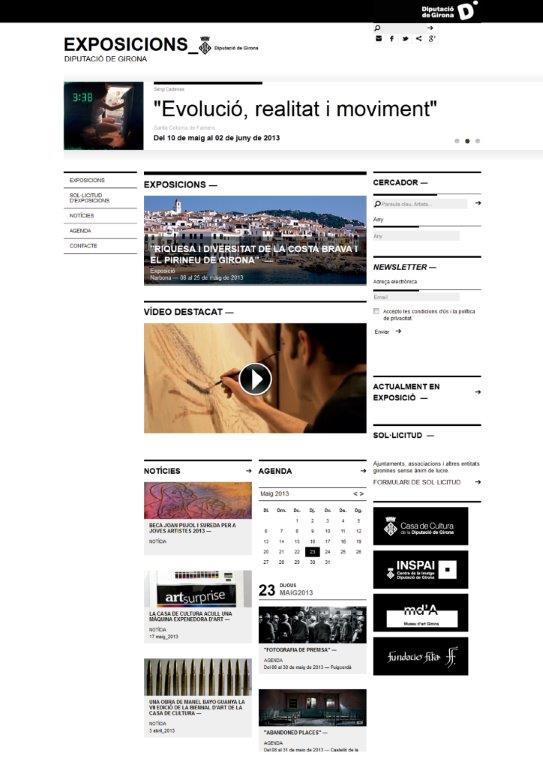 portal web exposicions diputacio girona