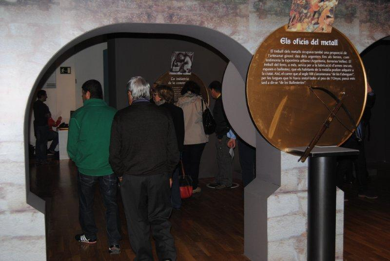 MHG. La Girona medieval detall expo 29.10.13