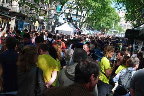 SiesTV Sant Jordi 2014 Barcelona Monmar
